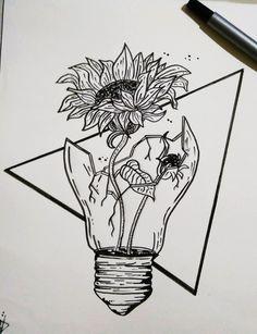 Broken but I will rise Art Drawings Sketches Simple, Pencil Art Drawings, Cute Drawings, Easy Skull Drawings, Mandala Drawing, Pen Art, Art Sketchbook, Doodle Art, Body Art Tattoos
