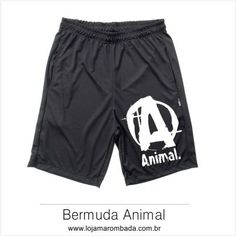 Bermuda Masculina Dryfit Animal Letra A. Bermuda Animal. Confira no nosso  site! Marombada Moda Fitness c4730d5ff8144