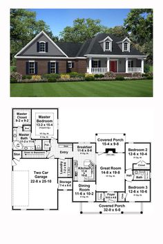 75 Best New House Plans Images In 2019 Family House Plans New