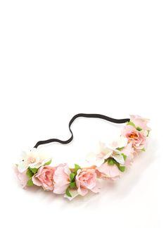 Flower Arrangement Headband IVORYMULTI PINKMULTI - GoJane.com