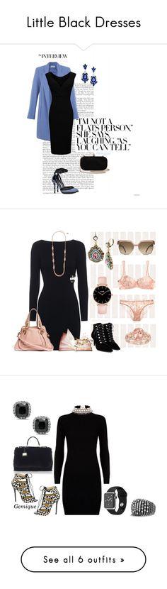 """Little Black Dresses"" by gemique ❤ liked on Polyvore featuring mode, Vionnet, Miss Selfridge, Betsey Johnson, La Perla, Chloé, Balenciaga, Polo Ralph Lauren, Dolce&Gabbana et Jimmy Choo"