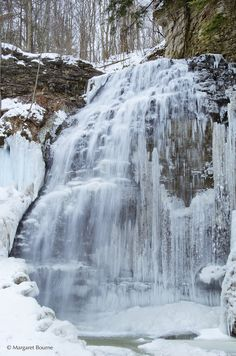 Winter at Tiffany Falls in Ancaster, Ontario - Pack Small Winter Landscape, Landscape Photos, Landscape Photography, Nature Photography, Night Photography, Cool Landscapes, Beautiful Landscapes, Canada Travel, New Travel