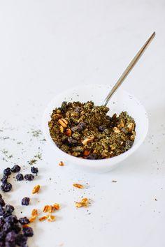 DIY Minted Blueberry Pecan Loose Leaf Tea - Hello Yellow Blog
