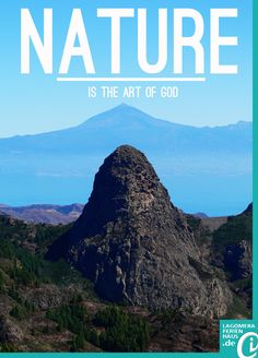 NATURE: Is the art of God El Teide #Tenerife and Roque de Agando #LaGomera #Holiday in nature #CanaryIslands #Kanaren Book your accommodation in La Gomera - Valle Gran Rey offers. www.lagomeraferienhaus.de