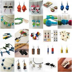 Button jewelry & other ideas love it! must try! #ecrafty