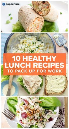 No-heat lunch recipes to bring to work. Meal plan and meet your weight loss goals. Pin now, meal prep later for success! | Popculture.com