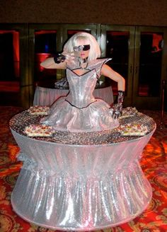 CeCe Productions Living Table - Lady GaGa