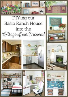 DIY-ing our Basic Brick House into the Cottage of our Dreams! - Beneath My Heart