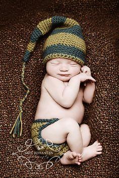 DIY: Nightcap Beanie & Diaper Cover Crochet Pattern & Video Tutorial