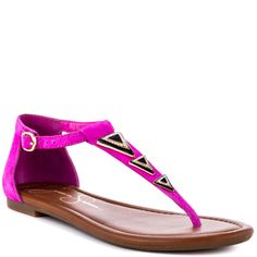 Rangle - Hot Shot Pink Suede  Jessica Simpson $69.99
