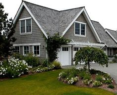 Colors stone fireplaces and dormer windows on pinterest for Pacific northwest home designs