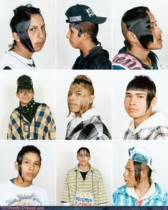 Very, very bad haircuts