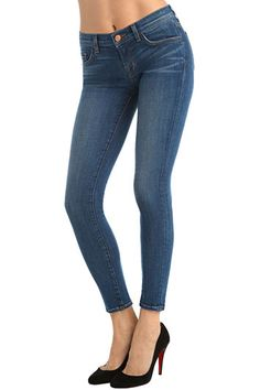 J-Brand 811 Mid-Rise Jeans. Worn by Kate Middleton this week in London and in July throughout North America. $205 at jbrandjeans.com.