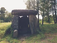 There is a rather interesting and popular theory that the true purpose of the Dolmen was of a broadcasting chamber, being built to harmoniously order the earth's currents and then broadcast this energy across the land for many miles.