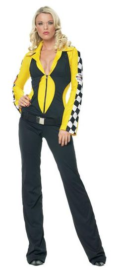 887f76c8963212 WD Lingerie - FANCY DRESS RACE CAR DRIVER COSTUME   RACING GIRL OUTFIT    MOTOR SPORT
