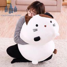 Big Squishy Huggable Life Sized Cat Dog Plush Toys – Best Baby And Baby Toys Big Plush, Cute Plush, Dog Toys, Baby Toys, Newborn Toys, Corgi Plush, Kawaii Pig, Squishy Kawaii, Cute Squishies