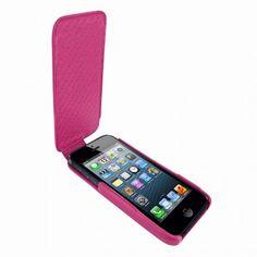 Funda iPhone 5 Piel Frama iMagnum - Fuchsia
