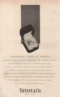 Vintage Tiffany Ad
