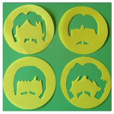 DIY: Stencils para Cupcakes The Beatles Beatles Birthday Party, 65th Birthday, Birthday Ideas, Beatles Cake, The Beatles, Marshmallow, Music Cookies, Stencils, Party Pops