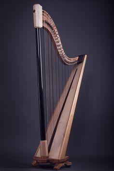 Instrument on Behance. Harp, Behance, Gallery