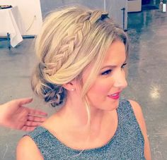 use extension for braid. attach with actual hair section