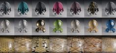 150 free Cycles shaders