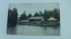 1910 Color Postcard--CONNECTICUT--Bantam--N.V. N.H. and H. RR Railroad Station
