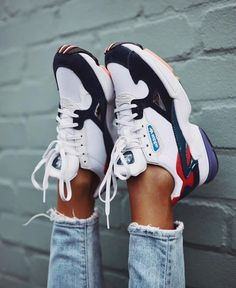 "c22be0ce1c6 BCN Street Style on Instagram: ""Adidas Falcon. ✓ ✓ ✓ ✓️Link in stories ✓ ✓  ✓️Who wants to add to her collection? 🙌🏻"""