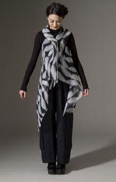 Amy Nguyen silk shibori vest