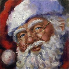 Santa (by artist Linda Smith)
