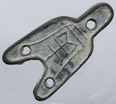 Old Chinese Feng Shui Bronze Tool- Shovel Shape f