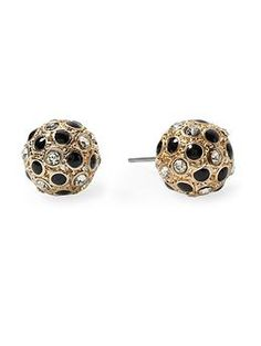 Tinley Road Spotted Pavé Ball Stud Earring | Piperlime  $18