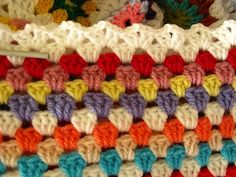 Double V Edging - nice border for granny style
