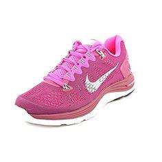 9a9e6fca5 Nike Women s Lunarglide+ 5 Raspberry Red Smmt Wht Pink Foil Running Shoe  6.5 Women US reviews in 2015