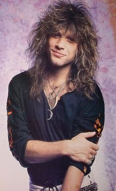 Love Bon Jovi... Why couldn't I have been born in the 80s? I swear I wasn't born in the right generation