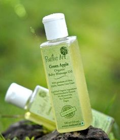 Every Mom and baby's favourite bonding time is the massage time! Buy online Organic Baby Massage Oil http://www.greenkins.com/organic-baby-massage-oil-green-apple.html #babyoils #babymassageoil #massageoil