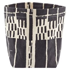 $34.99 Reversible Canvas Bin Grey, Container Store,