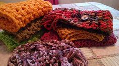 Cuellos y bufandas. Colores, calidez...crochet nice
