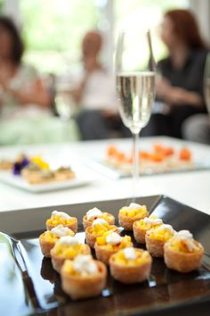 ... Canapé heaven! on Pinterest | Canapes, Goat cheese and Party canapes