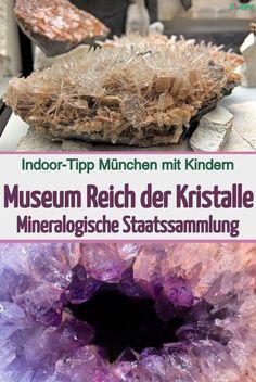 Das Museum Reich der Kristalle ist der öffentlich zugängliche Teil der Mineralogischen Staatssammlung in München und umfasst mehr als 100.000 Minerale. Regelmäßig werden im Museum Reich der Kristalle die schönsten und wertvollsten gezeigt. Darunter befinden sich Diamanten, Smaragde und andere Edelsteine. #musemmünchen #kristalle #edelsteine #diamanten #ausstellungmünchen #münchenmitkindern #münchenkinderferien #münchenkinderregen #mineralienausstellung #reichderkristalle Fun Rainy Day Activities, Creative Activities For Kids, Fun Games For Kids, Indoor Activities For Kids, Dyi Doll House, Balloon Party Games, Skittles Game, One Minute Games, Thanksgiving Games For Kids
