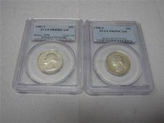 PCGS PR69DCAM Washington Quarters 1982-S, 1988-S - EBay price $19.99 (sale price) + free shipping