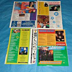George Michael Song Lyrics Music Memorabilia by WelshGoatVintage