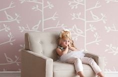 Post image for Customize Your Nursery Wallpaper Design via DwellStudio