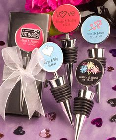 Personalized Expressions Collection Wine Bottle Stopper Favors