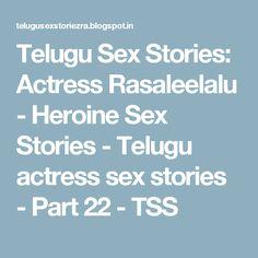Best telugu sex storys