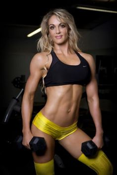 IFBB Pro Figure Competitor and fitness model Raechelle Chase