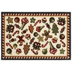 Found At Www Ftlfloorstogo Com For 59 With Free Shipping Holiday Rugs Christmas