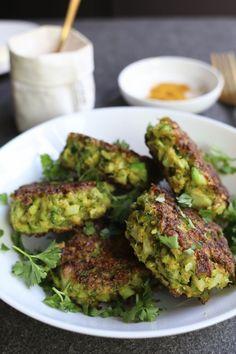 Broccoli patties, Gezonde vleesvervangers, Groenten burgers recept, Gezond avondeten, Koolhydraatarme recepten, Gezonde foodblogs
