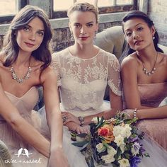 Shop our Bridal Collection for your bridesmaids gifts!!! #chloeandisabel #gifts #brides