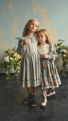Dresses For Toddlers, Kids Party Wear Dresses, Little Girl Outfits, Toddler Girl Dresses, Cute Dresses, Kids Outfits, Vintage Baby Dresses, Smocked Baby Dresses, Girls Boutique Dresses